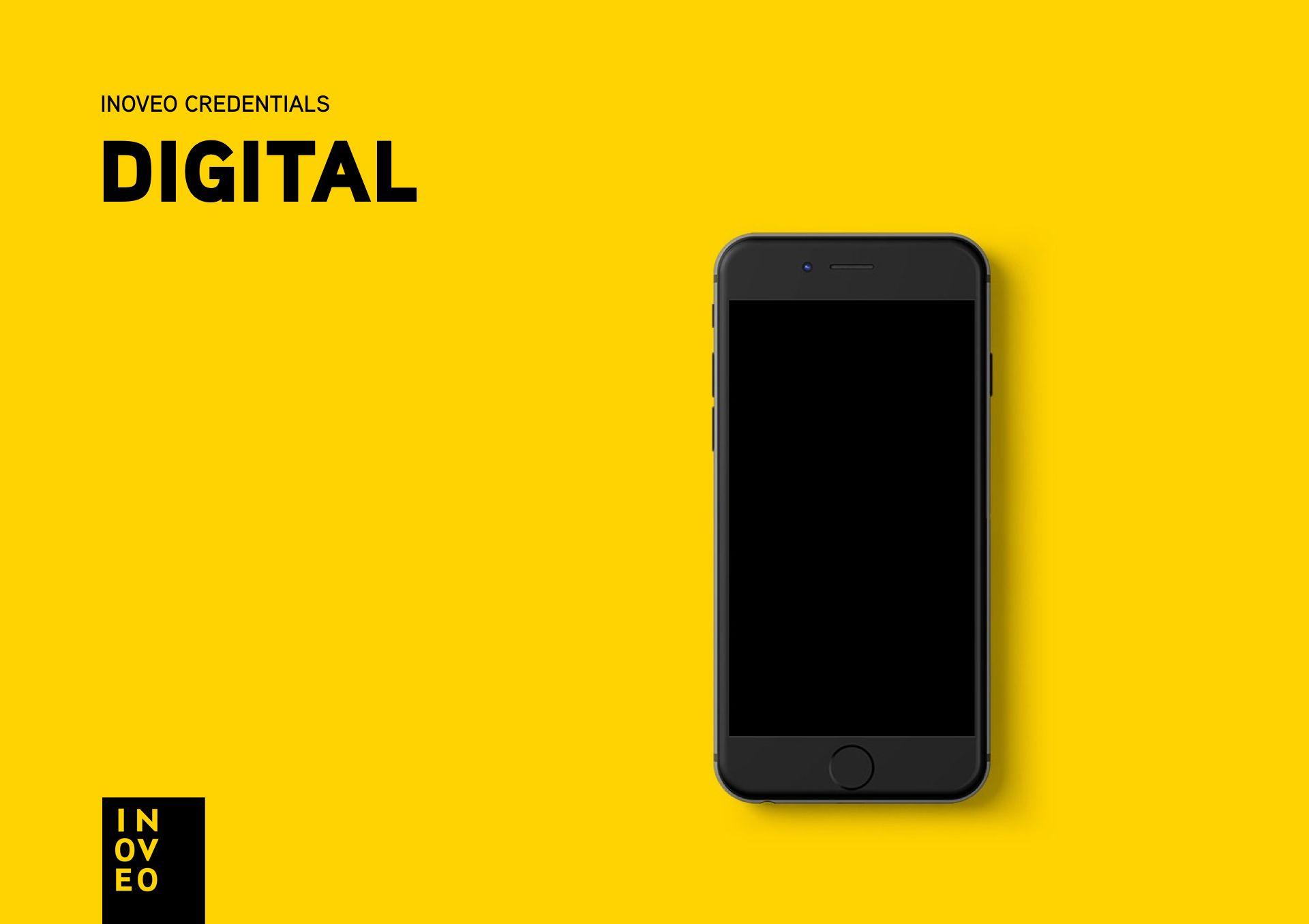 digital credentials INOVEO branding
