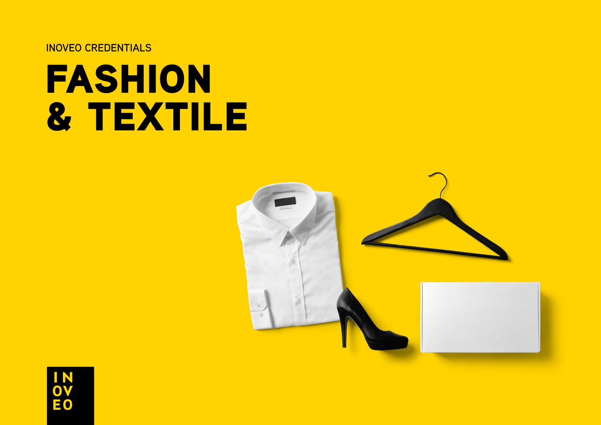 Fashion & Textile credentials INOVEO branding