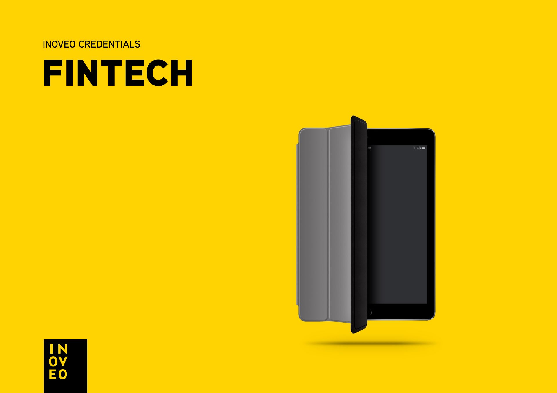 fintech credentials INOVEO branding