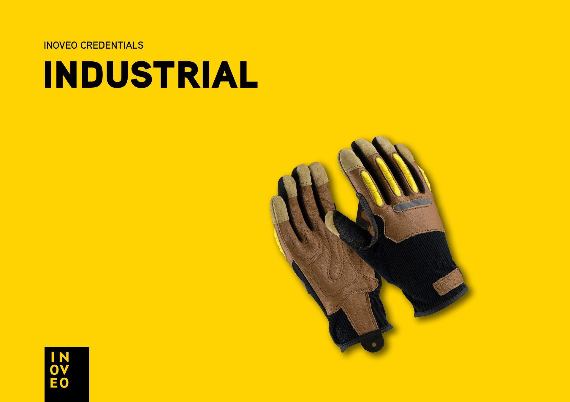 industrial credentials INOVEO branding