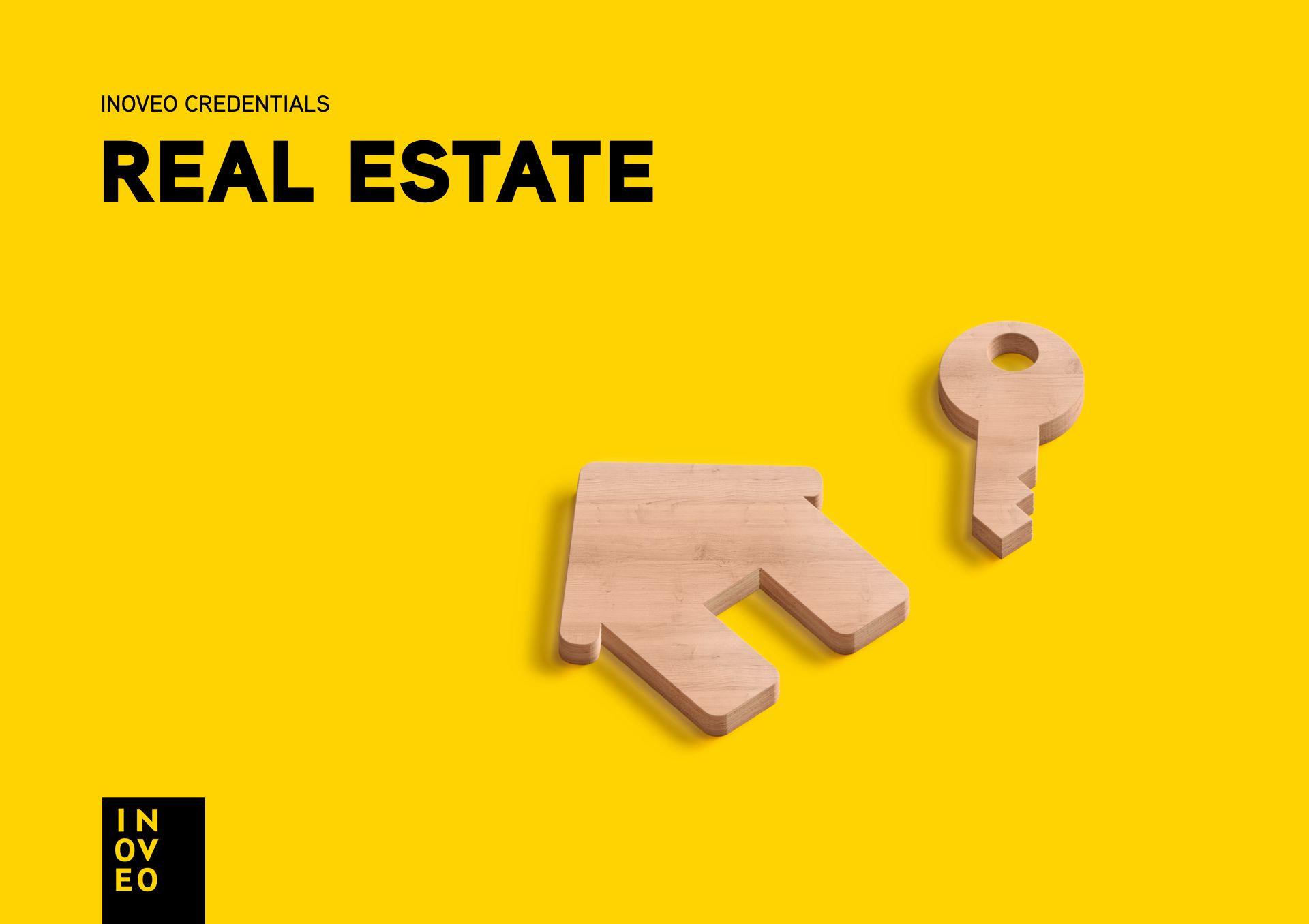 real estate credentials INOVEO branding