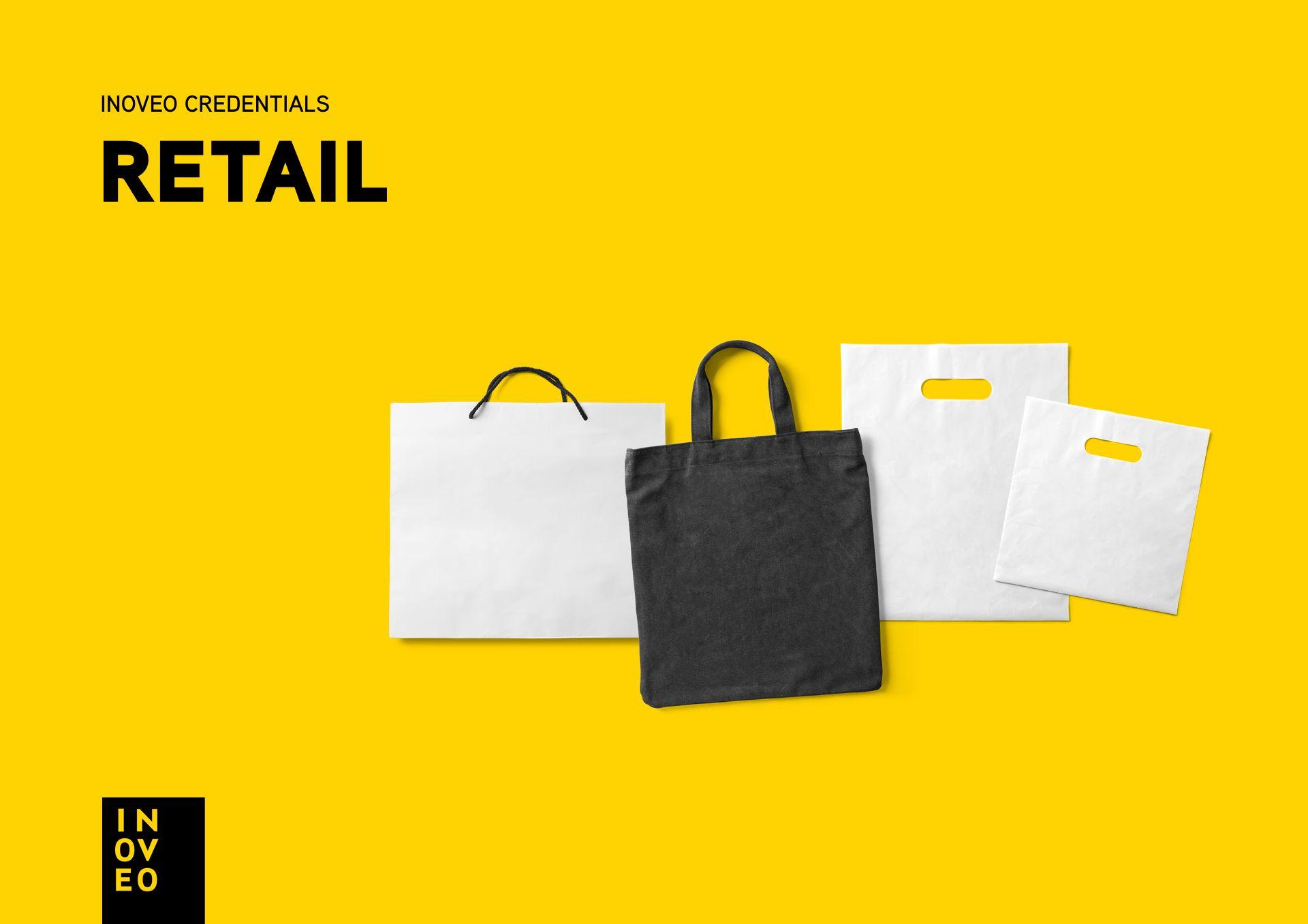 Retail credentials INOVEO branding